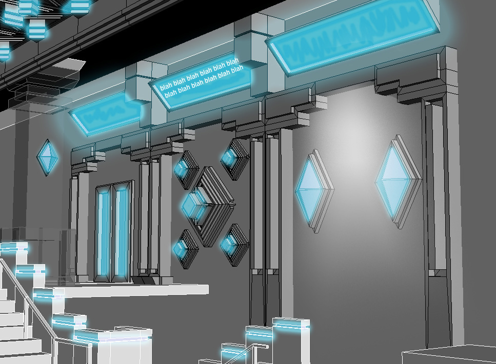 Aquarium Scene [Source] | Prototypes and Polygons
